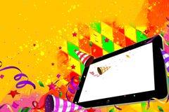Partie de jour de PC de Tablette Photos libres de droits