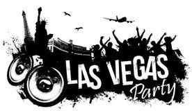 Partie de Las Vegas illustration de vecteur