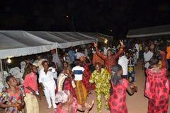 PARTIE DE LAURENT GBAGBO DANS LE DEUIL Photo libre de droits