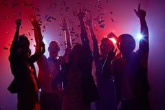 Partie de mascarade de nouvelle année Photographie stock