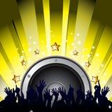 Partie de musique Image libre de droits