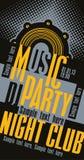 Partie de musique du DJ Images libres de droits