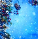 Partie de Noël et de la nouvelle année 2014 Photos stock