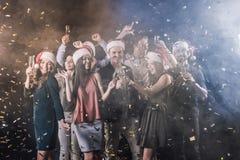 Partie de nouvelle année Photo libre de droits
