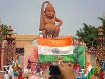 Partie de nouvelle année de ville de film de Ramoji Photo stock