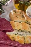 Partie de pain à l'ail photographie stock