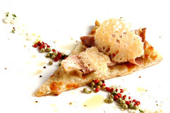 Partie de pizza italienne. Nourriture saine. Photographie stock