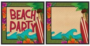 partie de plage Image libre de droits