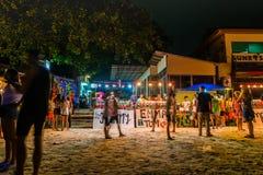 Partie de pleine lune chez Koh Phangan Photos libres de droits