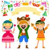 Partie de Purim Image libre de droits