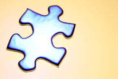 Partie de puzzle photographie stock