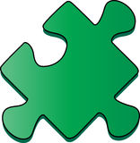 Partie de puzzle Photo stock