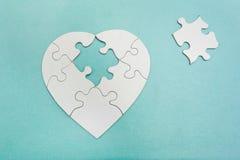 Partie de puzzle Photographie stock libre de droits