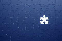 Partie de puzzle Images libres de droits