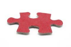 Partie de puzzle denteux Image stock