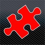 Partie de puzzle denteux Image libre de droits