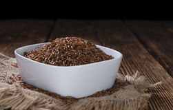 Partie de riz rouge Photo libre de droits