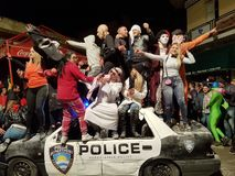 Partie de rues de carnaval photos libres de droits