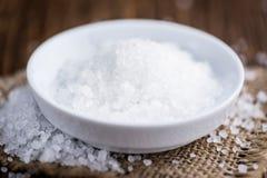 Partie de sel brut photo libre de droits