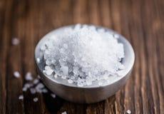 Partie de sel brut image libre de droits
