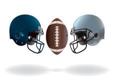 Partie du championnat de football américain Image libre de droits
