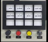 Partie et accessoires électriques dans le coffret de contrôle, le contrôle et le distributeur de puissance photo libre de droits