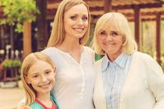 Partie féminine de famille Photos libres de droits