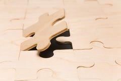 Partie finale de puzzle images libres de droits