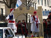 Partie grecque 56 du défilé 2016 de Jour de la Déclaration d'Indépendance de NYC image stock