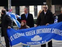 Partie grecque 91 du défilé 2016 de Jour de la Déclaration d'Indépendance de NYC photographie stock
