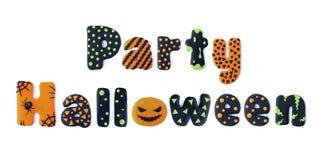 Partie Halloween Photographie stock