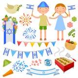 Partie israélienne illustration de vecteur