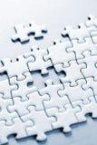 Partie manquante de puzzle Photos stock