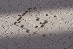 Partie manquante du puzzle photos libres de droits