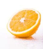 partie orange Images stock