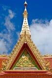 Partie supérieure d'architecture thaïe de type Photos stock
