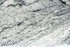 Partie supérieure du comptoir de granit de vicomte White Photos libres de droits
