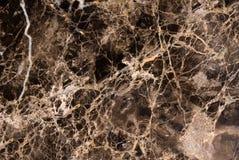 Partie supérieure du comptoir de marbre noire image stock
