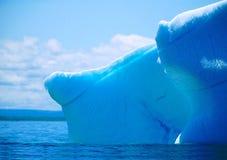Parties émergées de l'iceberg Image stock