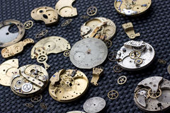 Parties 16 d'horloge Images libres de droits