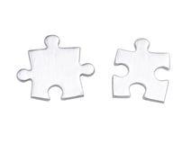 Parties assorties de puzzle Photo stock