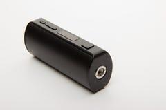 Parties démantelées de la cigarette électronique sur un backgrou blanc Photos libres de droits