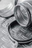 Parties d'installation de ventilation, plan rapproché Image stock