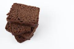 Parties de gâteau Image stock