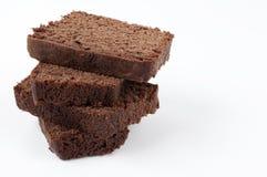 Parties de gâteau Image libre de droits