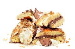 Parties de gâteau photographie stock libre de droits
