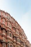 Parties de Hawa Mahal, Jaipur Photographie stock