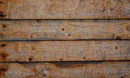 Parties de mur en bois Photo libre de droits