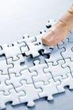 Parties de puzzle photo stock
