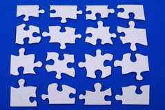 Parties de puzzle Images libres de droits